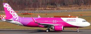 1:200 JC Wings Peach Airbus Industries A320-200 JA201P EW232N005