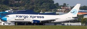 1:400 JC Wings Kargo Xpress Boeing B 737-400 9M-KXA XX4495