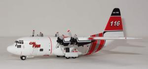 1:200 Herpa CAL Fire Lockheed C-130 Hercules 116 571470