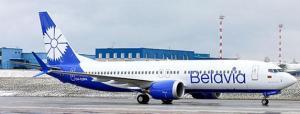 1:400 JC Wings Belavia Boeing B 737-8MAX EW-528PA LH4247