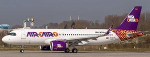 1:200 JC Wings Air Cairo Airbus Industries A320-200 SU-BUK LH2308