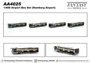 1:400 Fantasywings Hamburg Airport Cobus Industries 3000 NA AA4025