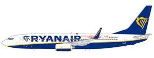 1:200 JC Wings Ryanair Malta Boeing B 737-800 9H-QCN XX2439