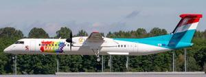 1:200 JC Wings Luxair Bombardier DHC-8-400 LX-LQC XX20166