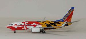 1:400 NG Models Southwest Airlines Boeing B 737-700 N214WN 77006